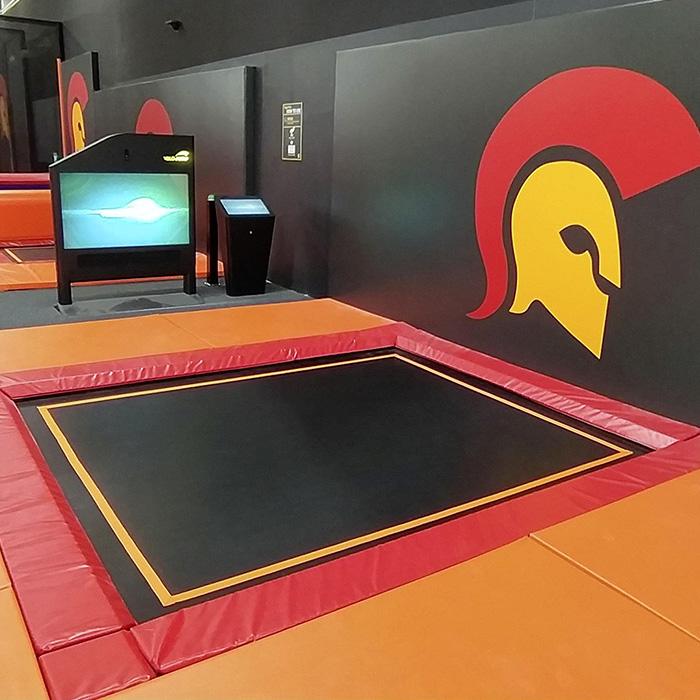 Trampolinpark Indoor Trampolinhalle Sprungarena Brackenheim heilbronn Contigo Indoortainment
